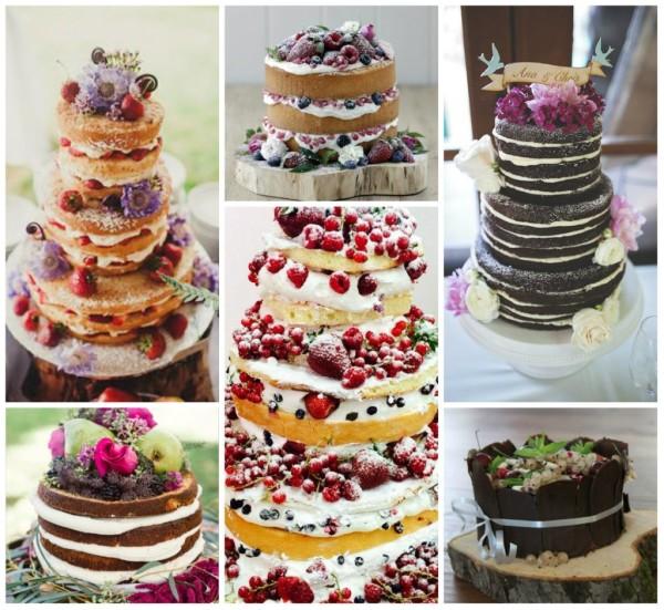 свадебный торт без крема