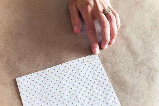 нарезанная бумага