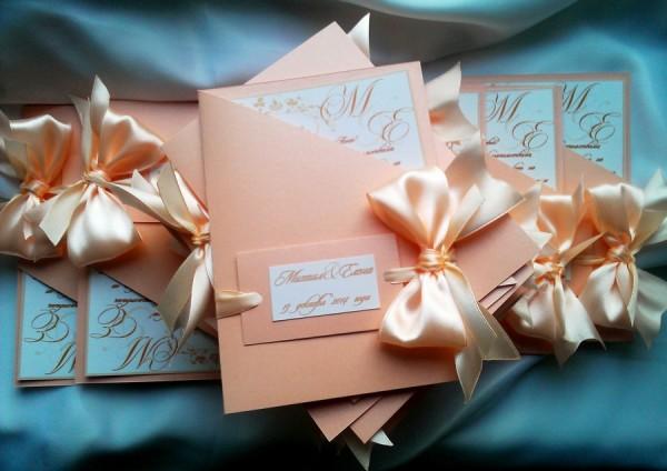 открытки в персиковом цвете
