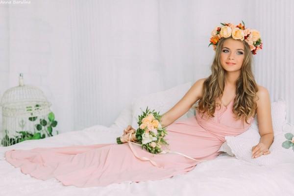 симпатичная невеста