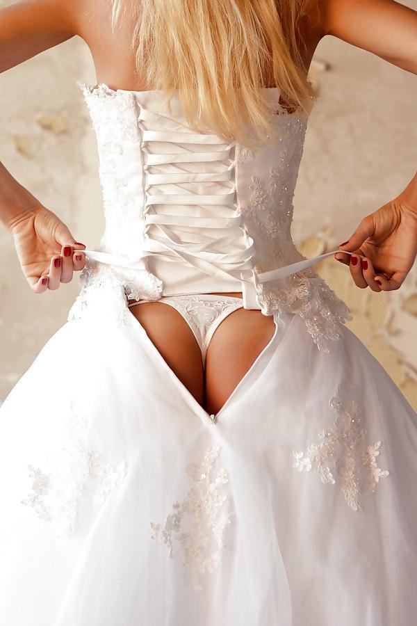 стринги невесты