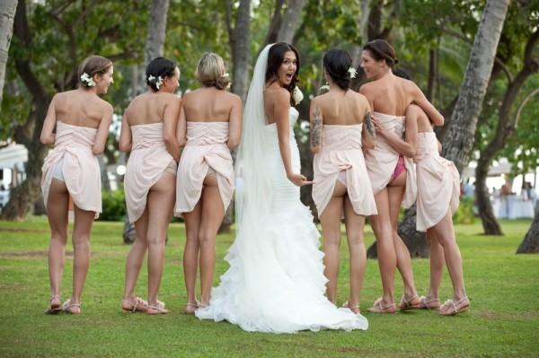 подружки невесты во всей красе