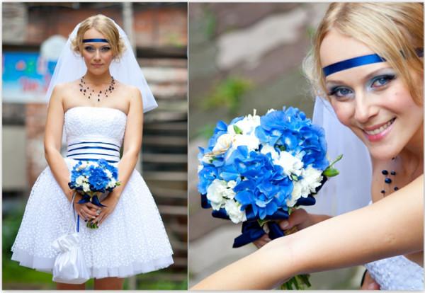 платье невесты моряка
