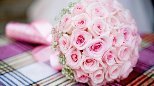 Букет из роз на свадьбу