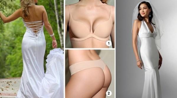 белье под облегающее платье